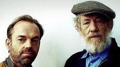 "Great photos of Hugo Weaving and Ian McKellen  l-o-t-r: ""Bros For Life: Hugo & Ian"""
