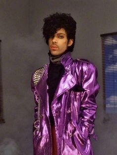 Image result for Prince  Purple jacket