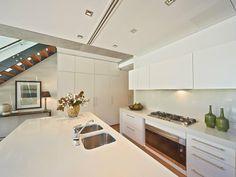 86 John Street, Woollahra, NSW 2025 #caesarstone #kitchen #design #inspiration #benchtop #renovation #ideas