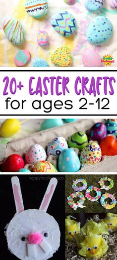 Awesome Easter Crafts for Kids of All Ages All the Easter crafts you'll ever need for Easter this year. Fun, easy and impressive ideas for toddlers, preschoolers elementary school kids and tweens! There's even a terrific Easter snack recipe! Easter Crafts For Toddlers, Crafts For Kids To Make, Easter Crafts For Kids, Toddler Crafts, Preschool Crafts, Cool Toys For Boys, Toys For Girls, Kids Toys, Easter Snacks