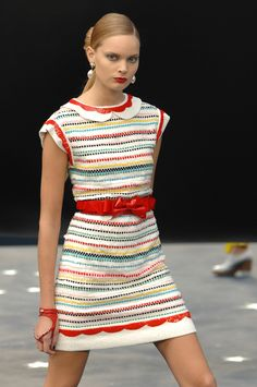 Chanel Spring 2008 Runway Pictures - StyleBistro