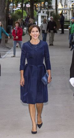 Crown Princess Mary attended the Melbourne Symphony Orchestra's concert in the Tivoli Concert Hall