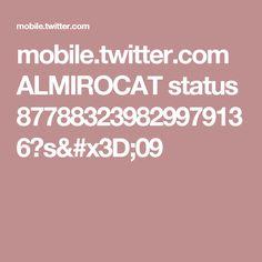 mobile.twitter.com ALMIROCAT status 877883239829979136?s=09