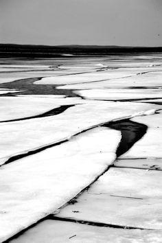 burt lake ice by peterlfrench