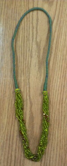 Kimiko's seed bead necklace