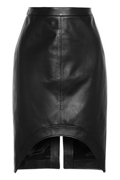Givenchy | Leather pencil skirt