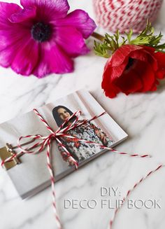 Qué mejor que encomendarnos a nuestra creatividad para conseguir crear un DIY único, personalizado y sorprendente: un Flip Book para enamorados.