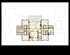 Stephen Fuller Designs - Anglo Palladian Villa Drawings