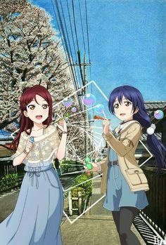 Riko & Umi is the best :v #editedbyifad