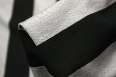 Wide Platinum Black - Jersey - Tessuti Fabrics - Online Fabric Store - Cotton, Linen, Silk, Bridal & more
