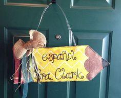 Classroom Door Hanger by emrikatelyn on Etsy