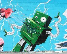 Street art | Mural by Tito na Rua [aka Alberto Serrano]