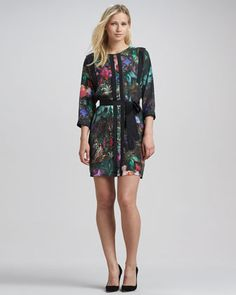 Love this!!! Nicolle Printed Tunic Dress (Stylist Pick!) at CUSP.