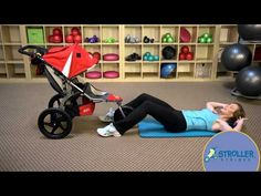 Using the stroller as a guide, strengthen your core while engaging with baby. Bob Stroller, Stroller Strides, Power Walking, Different Exercises, Post Pregnancy, Abdominal Muscles, Sit Up, Total Body, New Parents