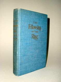 J.R.R. Tolkien, The Fellowship of the Ring, Houghton Mifflin, 1st Edition, 3rd state