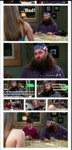 I love John Luke in this episode! I laughed so hard I cried Robertson Family, Sadie Robertson, I Love To Laugh, Make Me Smile, Funny Me, Hilarious, Duck Dynasty Family, John Luke, Duck Calls
