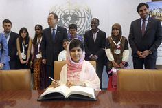 Malala, Pakistani Teen Who Survived Taliban Attack, Resented In Hometown  Reuters  |  Posted: 10/11/2013 5:22 am EDT  |  Updated: 10/11/20...