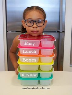 Pack lunch for the week FAST with #EasyLunchBoxes #schoolunch