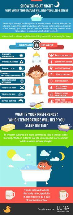 8 Ways Showering at Night Could Help Improve Your Sleep #soclean #sleepapnea #CPAP