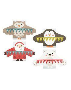 John Lewis Mini Hugs Charity Christmas Cards