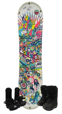 66e1e79fc536 Pint size board for a mighty grom. The Rossignol Scan Snowboard gives young  rippers the