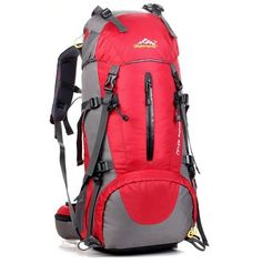 48.36$  Buy now - http://ali4ei.worldwells.pw/go.php?t=32622782354 - 50L capacity neutral outdoor rock climbing mountaineering sports bag nylon travel bag zipper waterproof casual hiking 6 colors