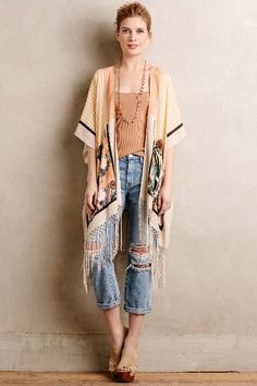 Haru Tasseled Kimono - anthropologie.com #anthrofave