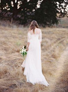 Rustic romantic wedd