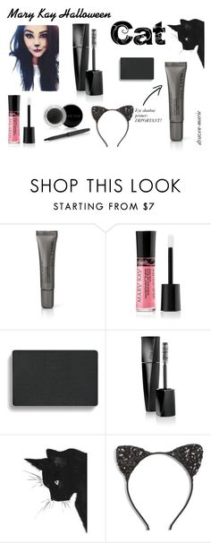 """""""Cat- Mary Kay Halloween- Draven Howard"""" by draven-marie on Polyvore featuring beauty, Mary Kay and Cara"""