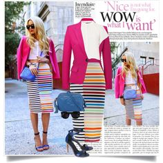 color craze, created by lisamichele-cdxci on Polyvore