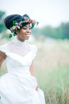 [Styled Shoot] – Rustic Vintage Wedding Inspiration || NATURAL HAIR