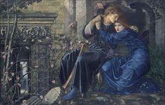 Έρωτας ανάμεσα στα ερείπια (1894) Έντουαρντ Μπερν - Τζόουνς - Christie's