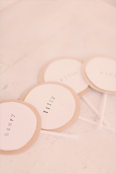 Do It Yourself Wedding Place Cards
