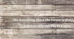 One Day at a Time - Lincoln