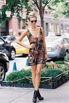 #fashion-ivabellini Vanessa Jackman: New York Fashion Week SS 2013...Jessica