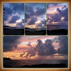Clouds add to the sunset colors. Sunset Colors, Looking Up, Clouds, Sky, Celestial, Pink, Blue, Outdoor, Heaven