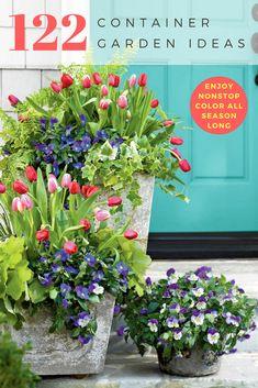 122 Beautiful Container Garden Ideas