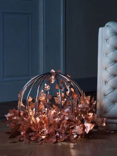 Sphera Lamp #sinopia #lamp #handmade #leaves #madeinitaly #home