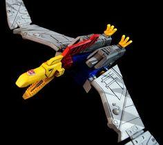 Swoop Custom Transformers G1 Cartoon Style Masterpiece Figure by Wilestbilame