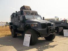 RCMP ERT Tactical Armoured Vehicle (TAV)