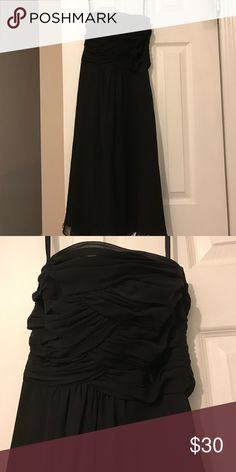 Dress Black strapless dress from White House black market never worn has tags. $178 original I got for $50. Size zero but I would say could fit a 2/4 White House Black Market Dresses Strapless