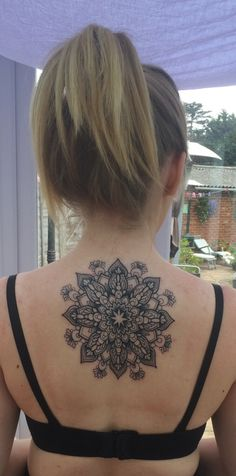 Mandala Tattoo 11/08/15 #mandala #tattoo #ideas