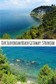 Aka how we found the most perfect beach and coastal town in Slovenia...