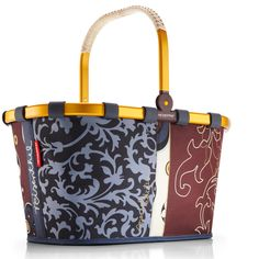 Reisenthel shopper. I have this exact one and I take it everywhere!