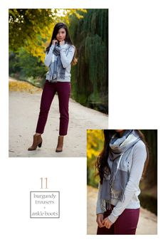 Scarf Outfit #11 - Visit stylishlyme.com to see 27 Stylish Ways to Wear a Scarf!