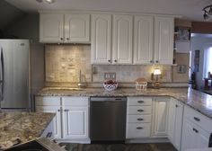Great kitchen redo--After: cabinet view