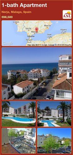 1-bath Apartment in Nerja, Malaga, Spain ►€66,500 #PropertyForSaleInSpain