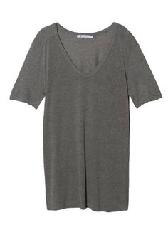 T by Alexander Wang simple, slouchy gray