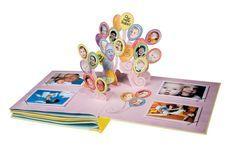 Amazon.com : Baby Pop-Up Photo Album by Goffengel Workshop : Pop Up Books : Baby