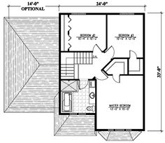 Living Room Bay - 90141PD | 2nd Floor Master Suite, CAD Available, Canadian, Cottage, Metric, PDF, Traditional | Architectural Designs
